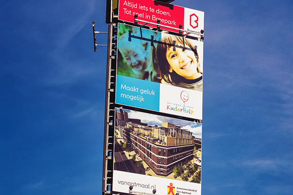 Print Advertenties langs de snelweg a27 breda