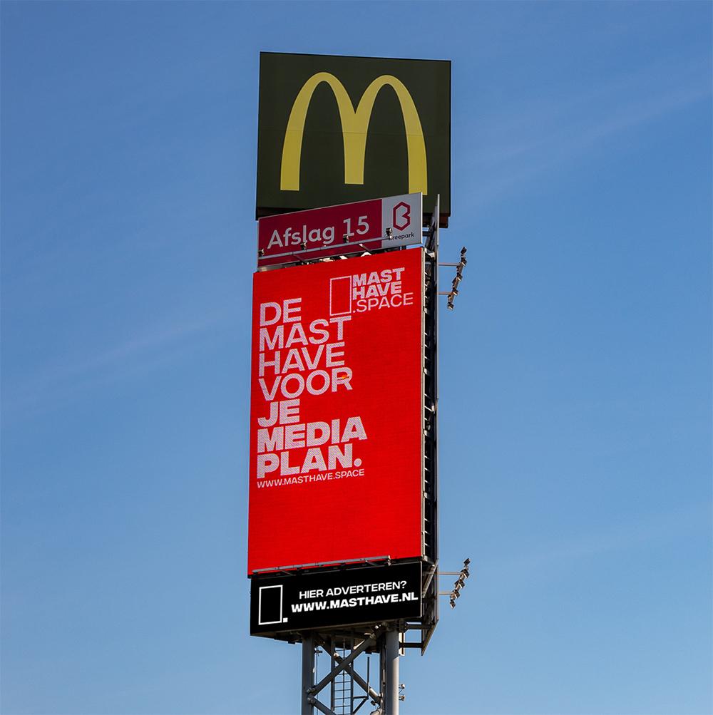 Adverteren op de Mast Have van Breda